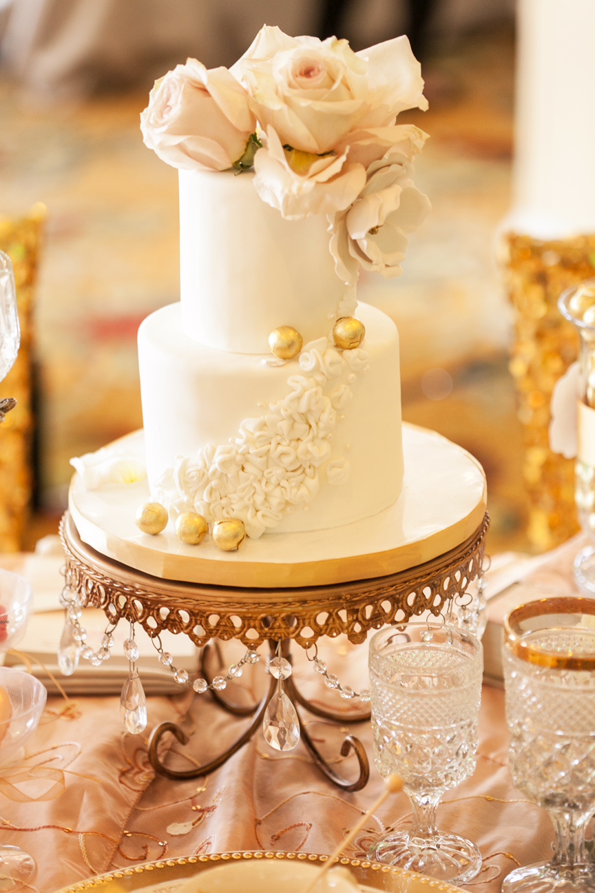Wedding cake, bridal show