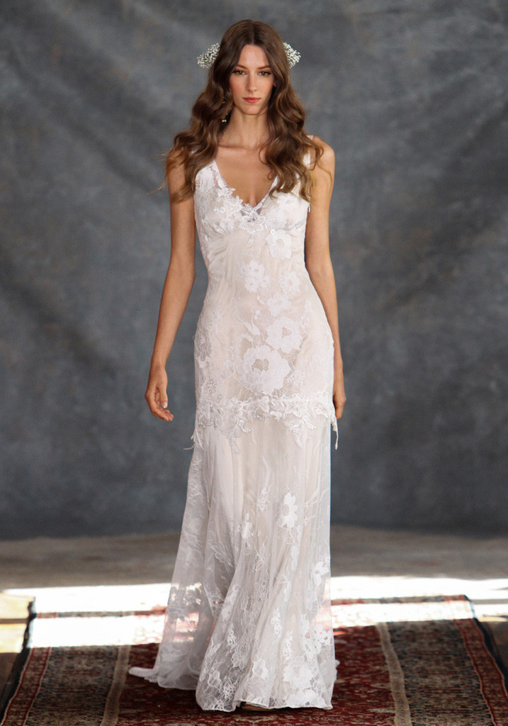 marina wedding party dress