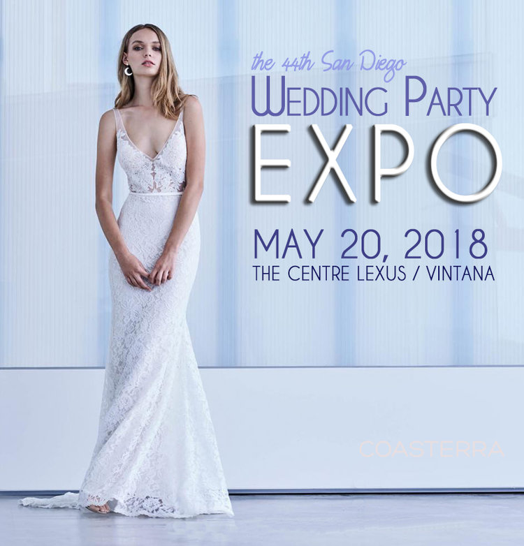 Blog — The MAY 20, 2018 San Diego Wedding Party EXPO @ The CENTRE ...