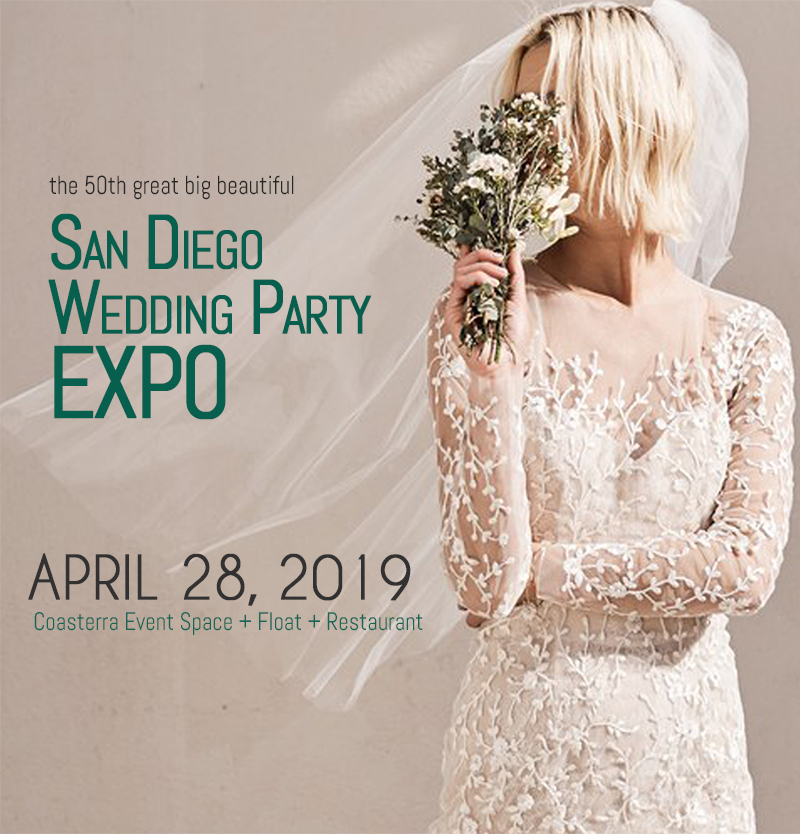 Exhibiting Info & Maps — The April 28, 2019 San Diego Wedding Party ...