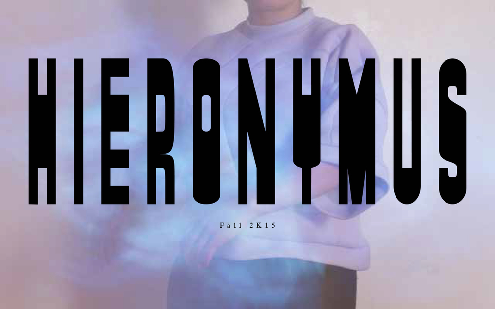 Hieronymus A/W 2K15 Collection