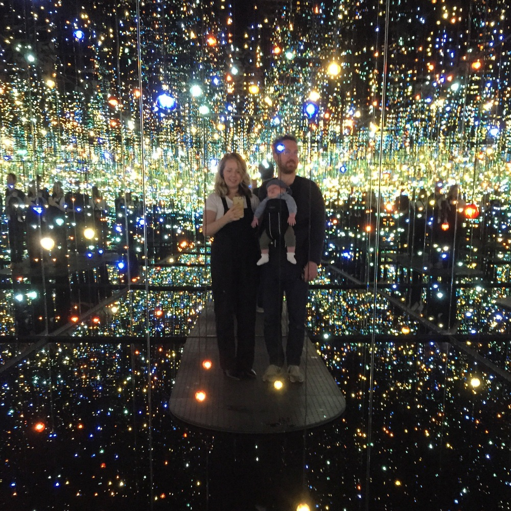 The much anticipated visit to the Mirror Room 🙌