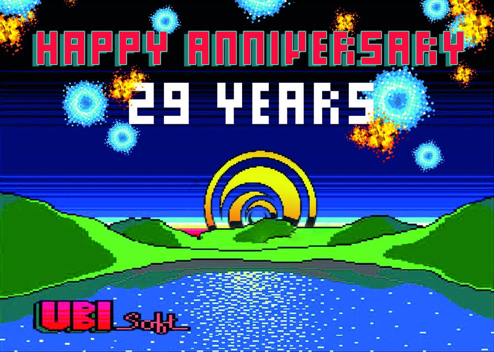 Ubisoft Anniversary Years