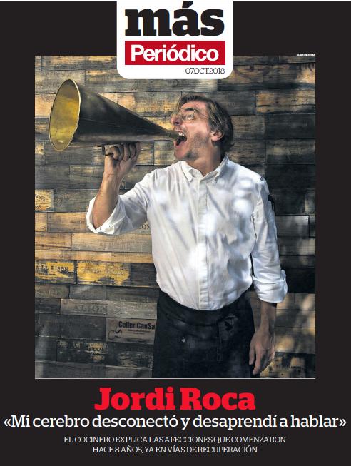 El Periódico - El chef de El Celler de Can Roca explica las peripecias médicas de los últimos 8 años