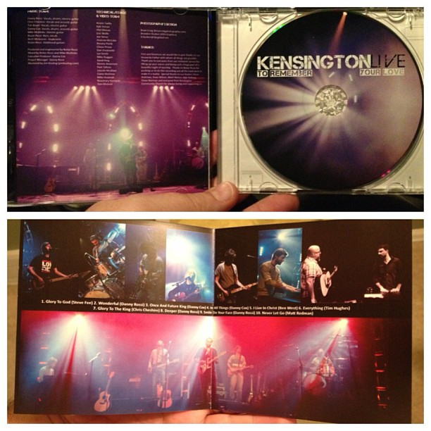 Always fun to see your work in print. Here is some stuff I was fortunate enough to shoot for @kensingtonchurch and their new love cd just released. Thanks to the great artists and lighting design team for making my job easy. Capturing light!