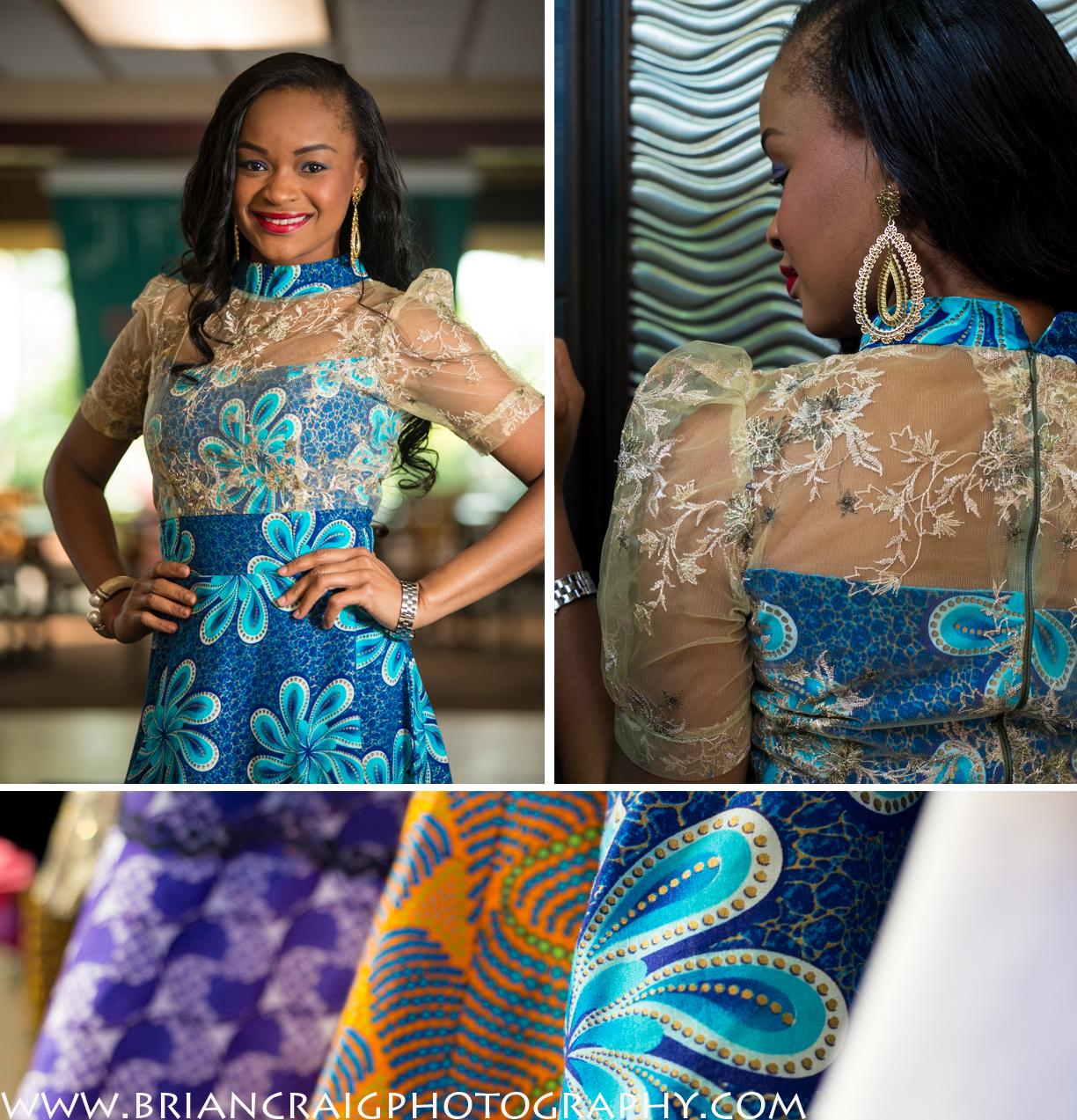 Nigerian fashions.    I had the pleasure of shooting photos for a fashion show here in #Detroit with a great young designer. JI Fashions. Her market is creating unique but classic African clothing for ladies and men here in America. Evening gowns for special events, or when you just want to stand out at an event. She is creating items with authentic fabrics and current style of Nigeria that you just can't easily get here in America.