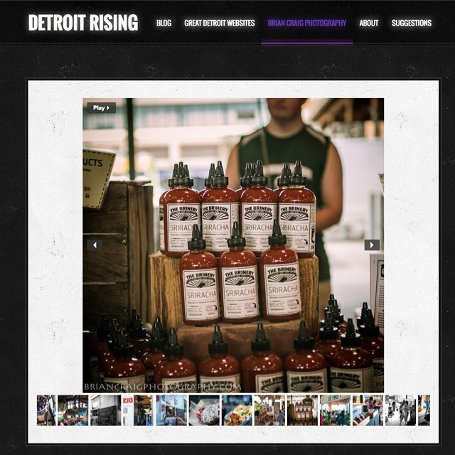 Very excited to have my images featured on this great site that focuses on all the great things happening with the resurgence of #Detroit these feature some shots from my recent trip to @easternmarket always an awesome time! #detroitrising