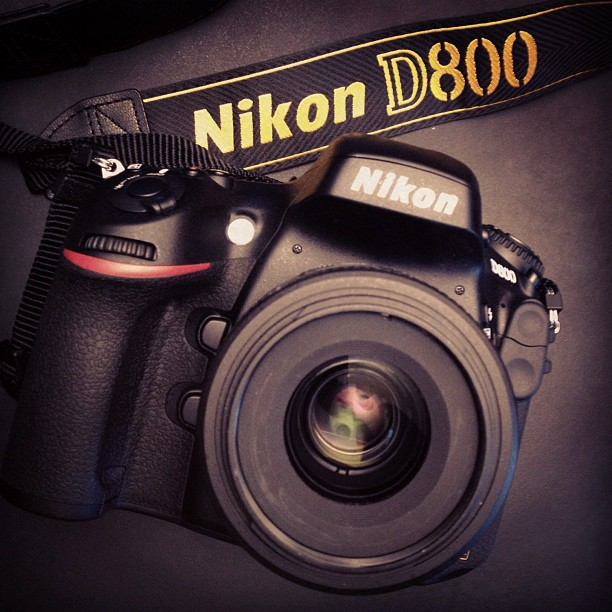 Loving my new work horse. Full frame and a 35mm 1.8 is a thing of beauty.  #nikon #d800 #photography (Taken with  Instagram )