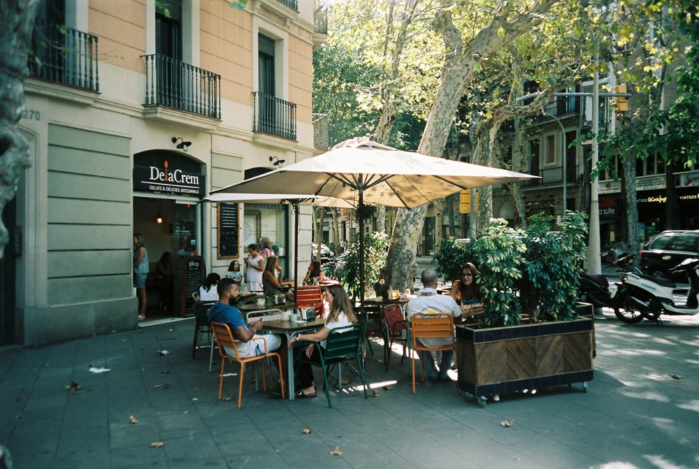 This was our favorite gelato spot, conveniently a few steps away from our front door