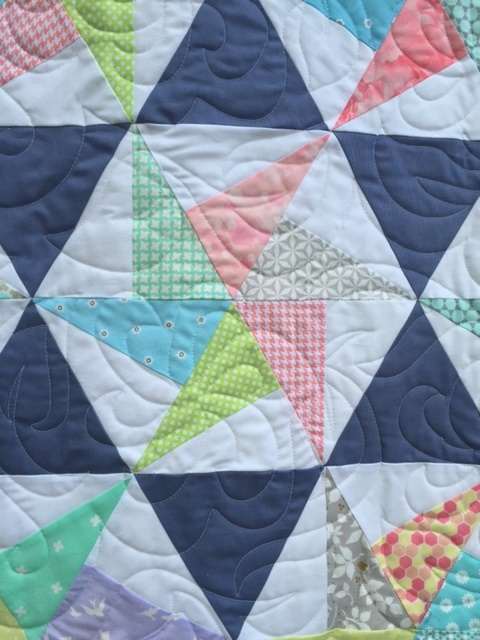Hexagon Pinwheel Quilt - Close Up.jpg