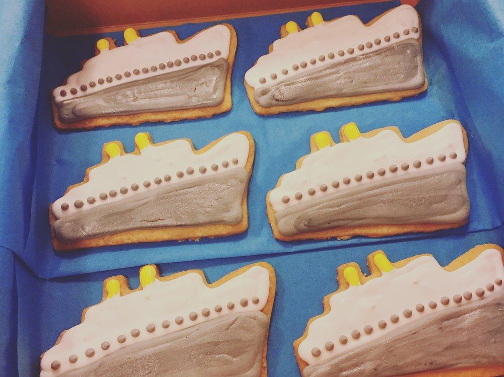 Ahoy Matey Shortbread Cookies