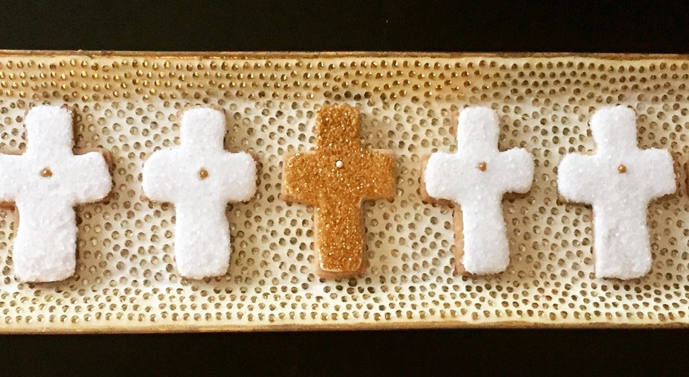 Cross Shortbread Cookies