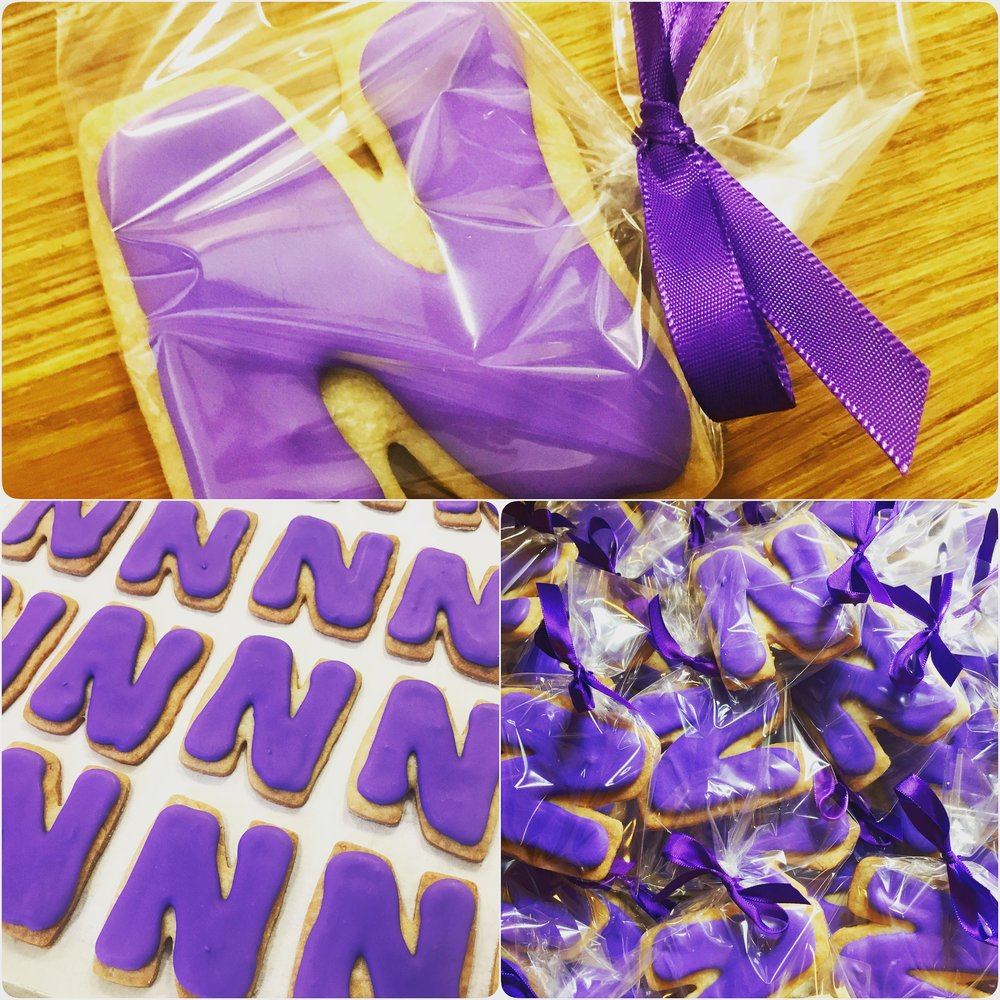 Northwestern University Graduation Cookies