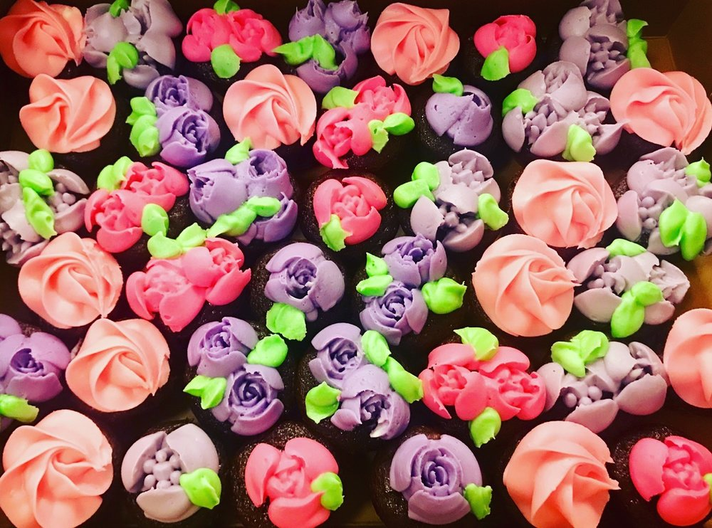 Flower Cucpakes