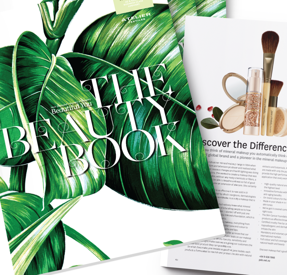 The Beauty Book Publication Layout and Design