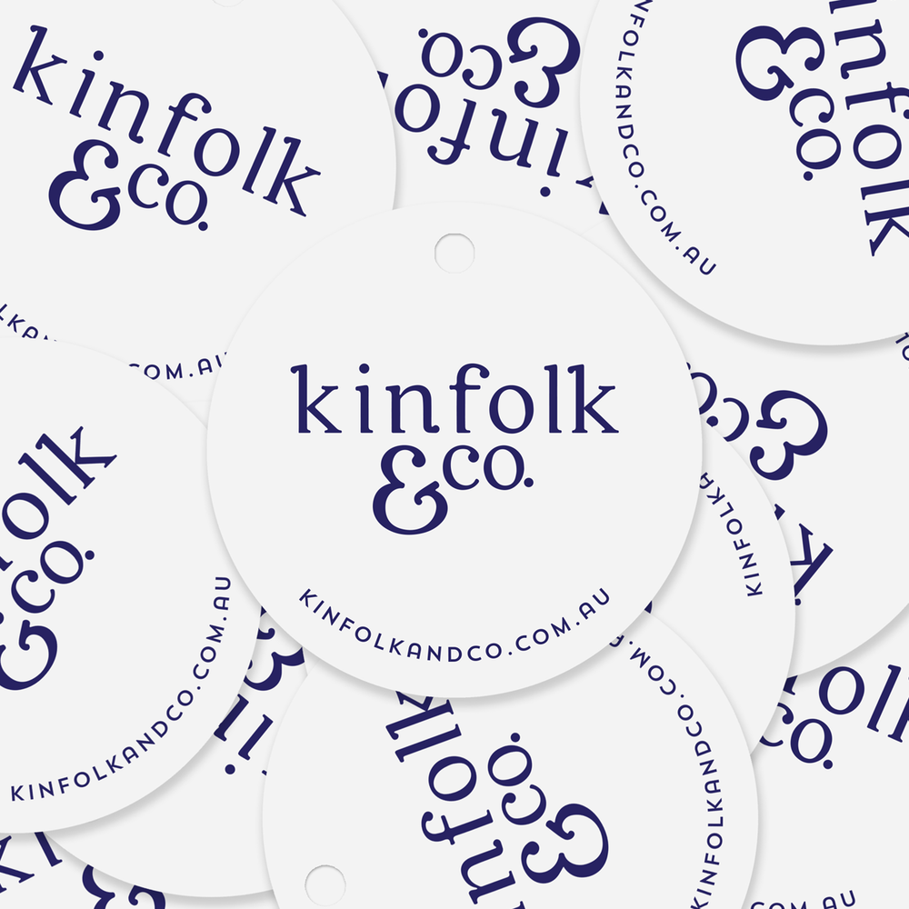Kinfolk and Co. Logo and Branding Project