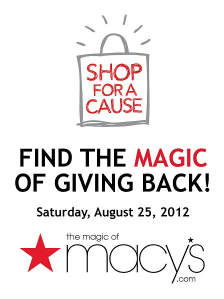 Macy's Shop For A Cause 2012
