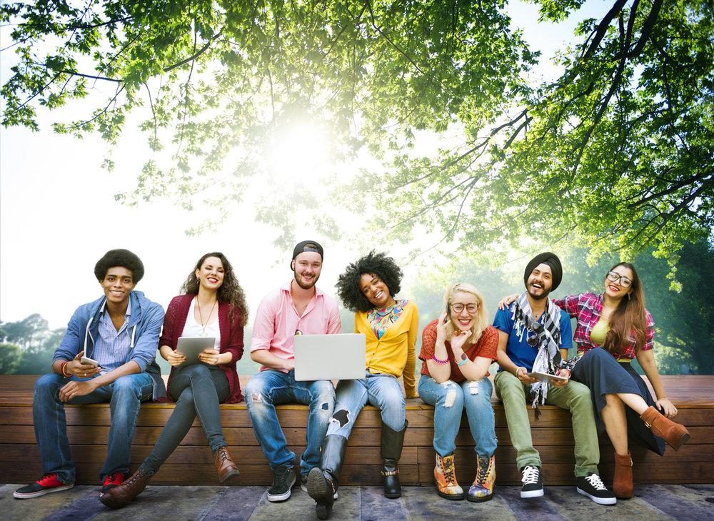 international students at iup