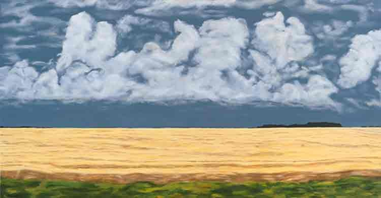 Prairie - Views of the Canadian prairies in oil and acrylic, displayed in shows across Ontario.
