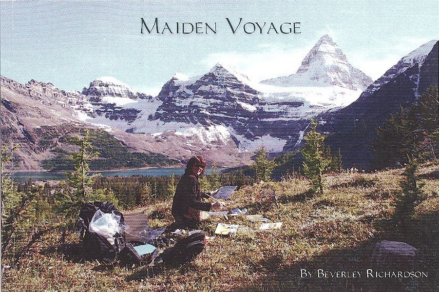 - Interested in reading about the adventures of a woman artist painting alone in the wilderness? Maiden Voyage is 63 pages of stories, artwork and photographs beautifully produced in colour.Order your copy from info@beverleyrichardson.com.2010, soft cover.63 pages. $20 + postage.