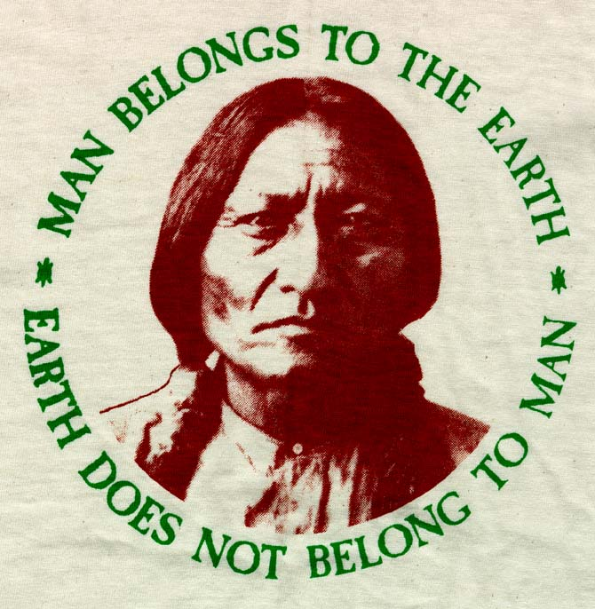 man belongs to the earth earth does not belong to man