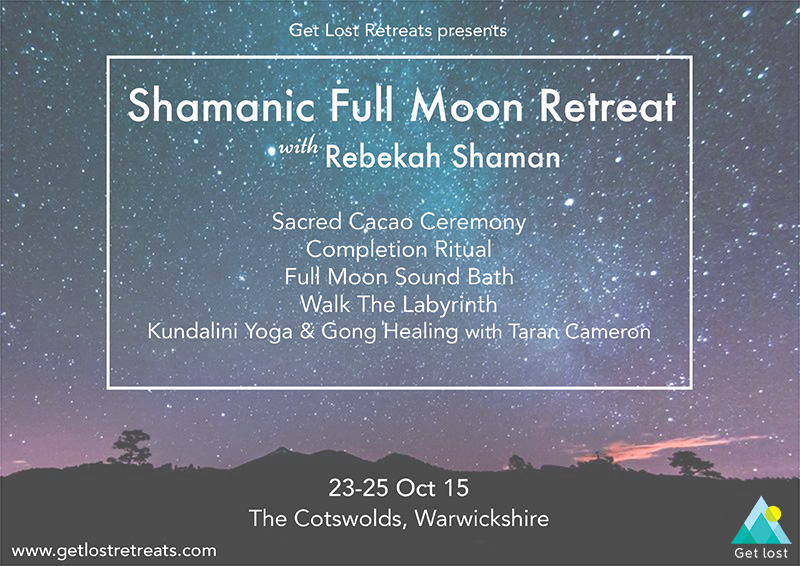 Shamanic Retreat with Sound Bath Oct 2015