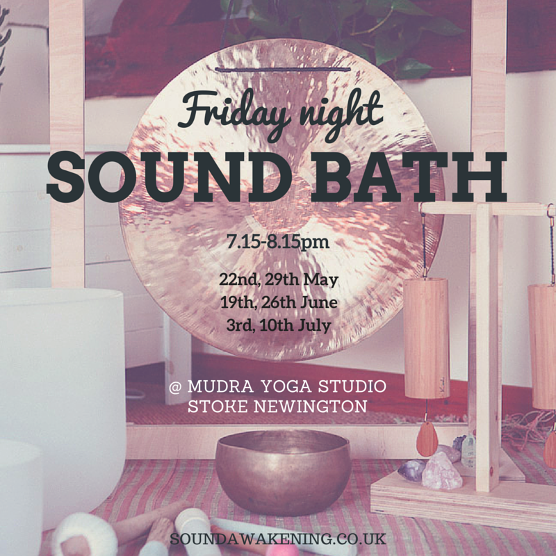 Sound Bath Stoke Newington Hackney