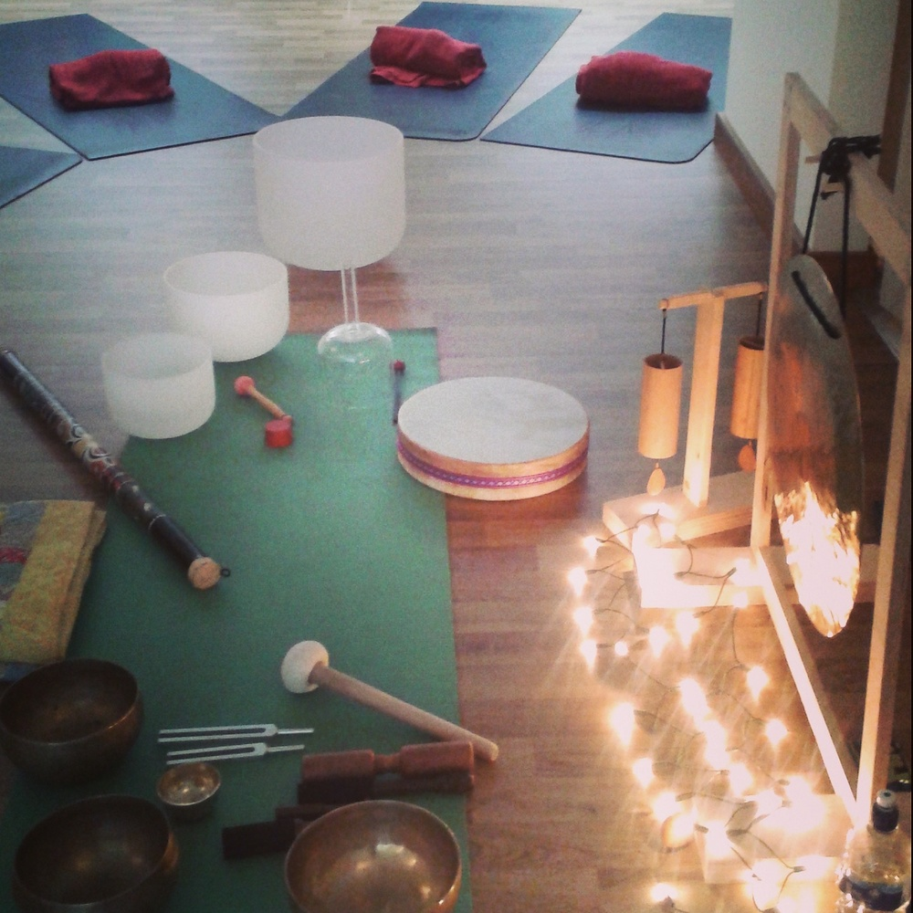 Louise Shiels Friday Night Sound Bath London