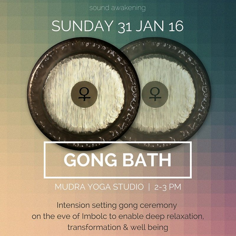 Gong bath ceremony Louise Shiels