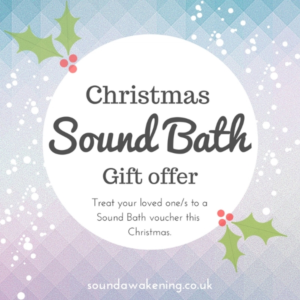 Christmas Sound Bath Gift Voucher