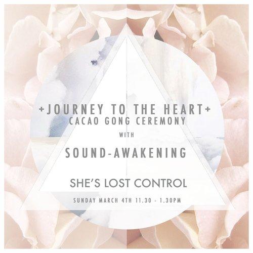SOUND AWAKENING cacao gong ceremony