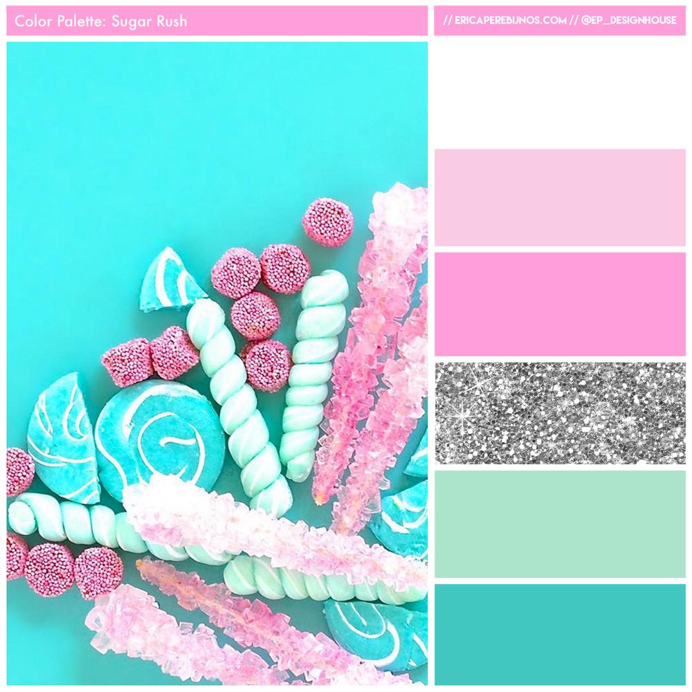 Color Palette // Sugar Rush — EP Designhouse