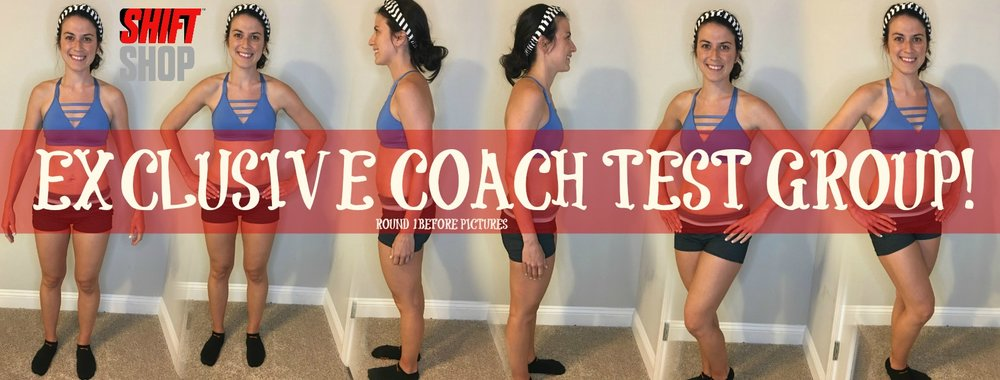 Before pictures and measurements taken and submitted to Beachbody corporate headquarters!