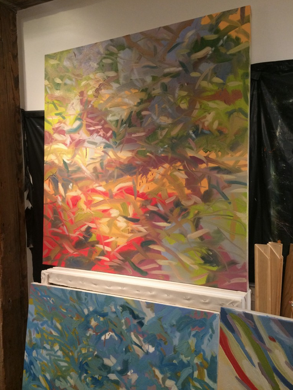 ABSTRACT ART HUNT Evelyn Benatar
