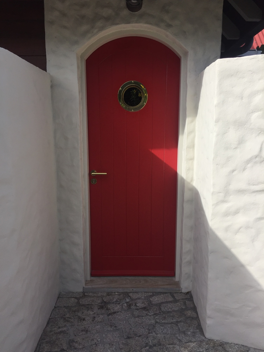 Front door to Eden Rock Villas