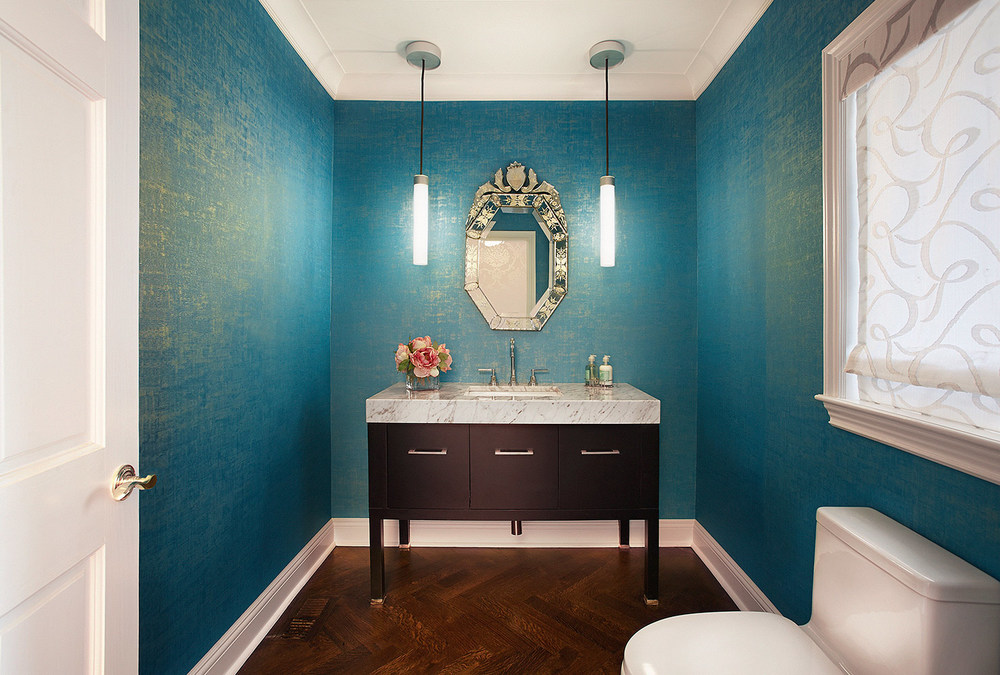 Powder Room By Evelyn Benatar