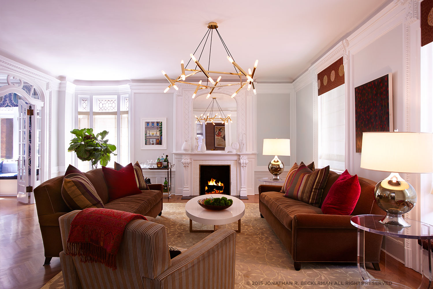 Evelyn Benatar New York Interior Design Living Room The Dorliton
