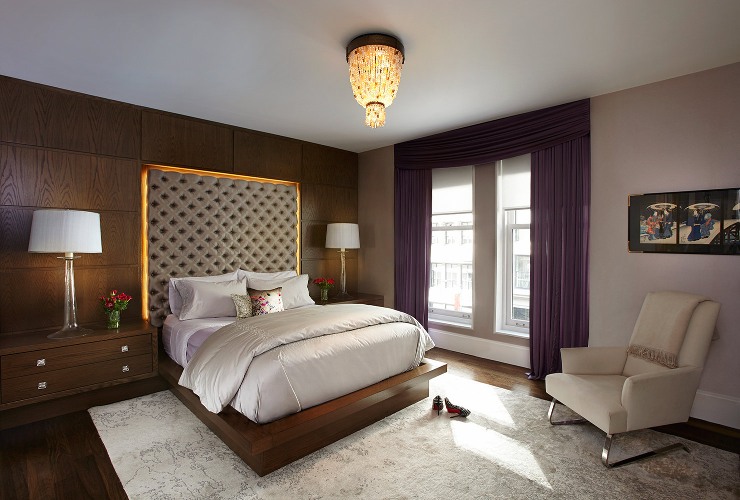 Evelyn Benatar New York Interior Design Bedroom Image By Jonathan R Beckerman