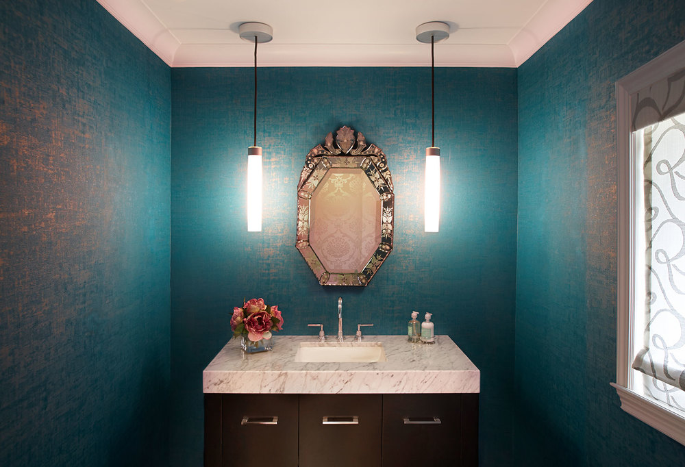 Evelyn Benatar New York Interior Design Bathroom