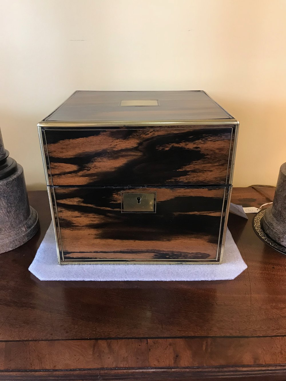 Antique box at The Elephant's Foot Antiques