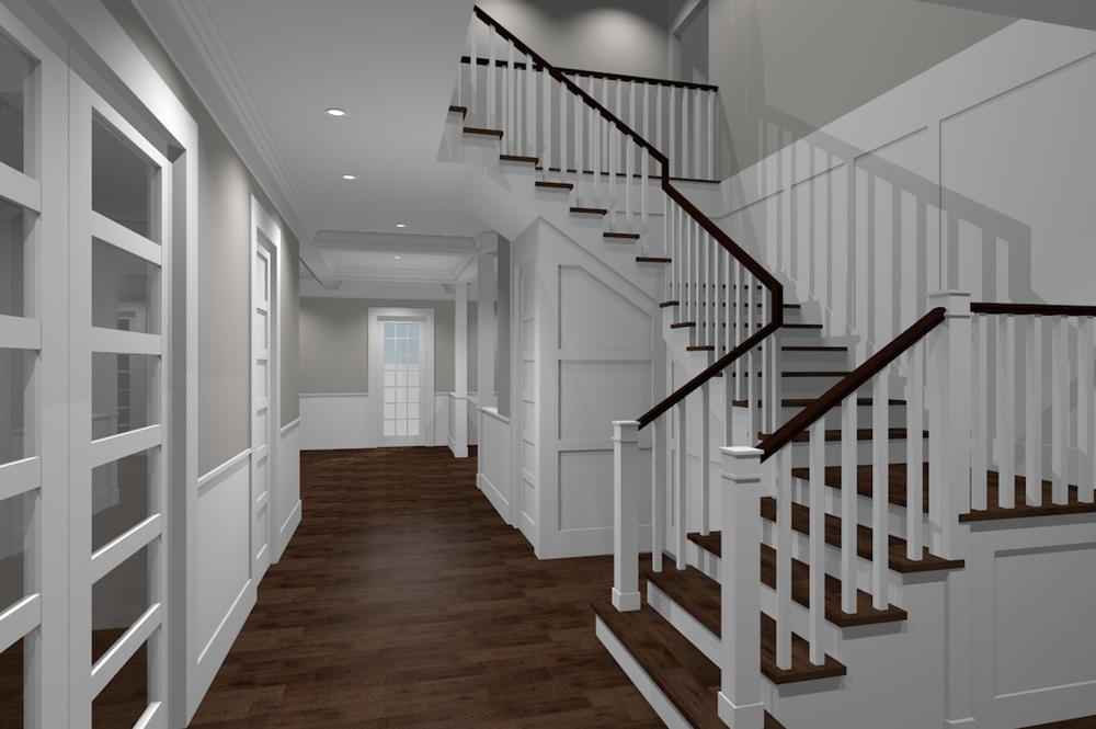 Entry Foyer rendering