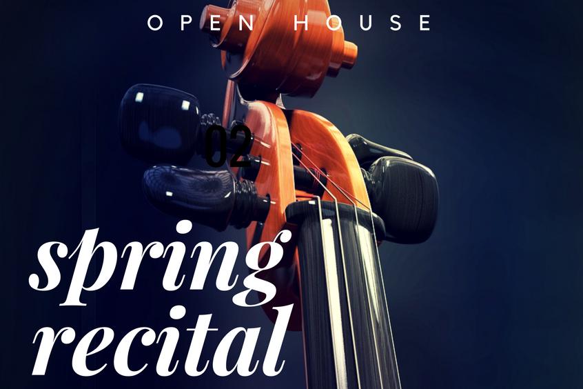 spring recital msm