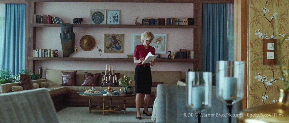 Hilde Film Kai Wessel Hildegard Knef Heike Makatsch Filmset Thomas Freudenthal Production Design Szenenbild Hamburg Germany