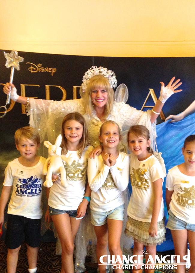 Cinderella Fundraiser.
