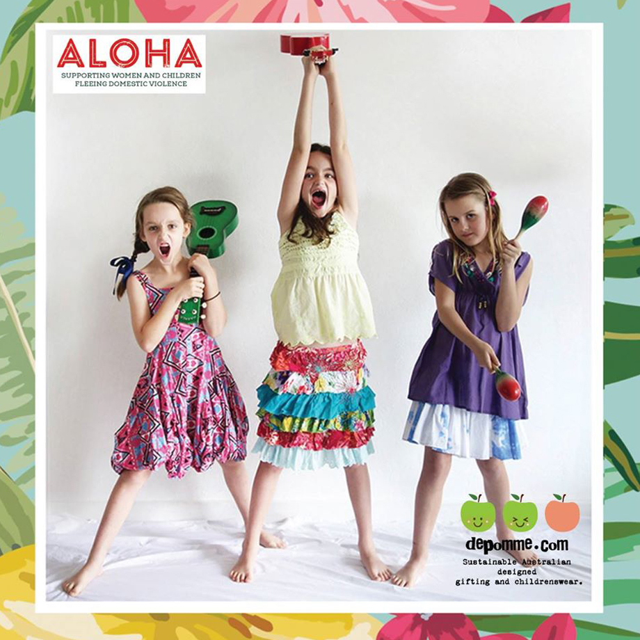 Aloha Campaign 2015 - De Pomme partnership.