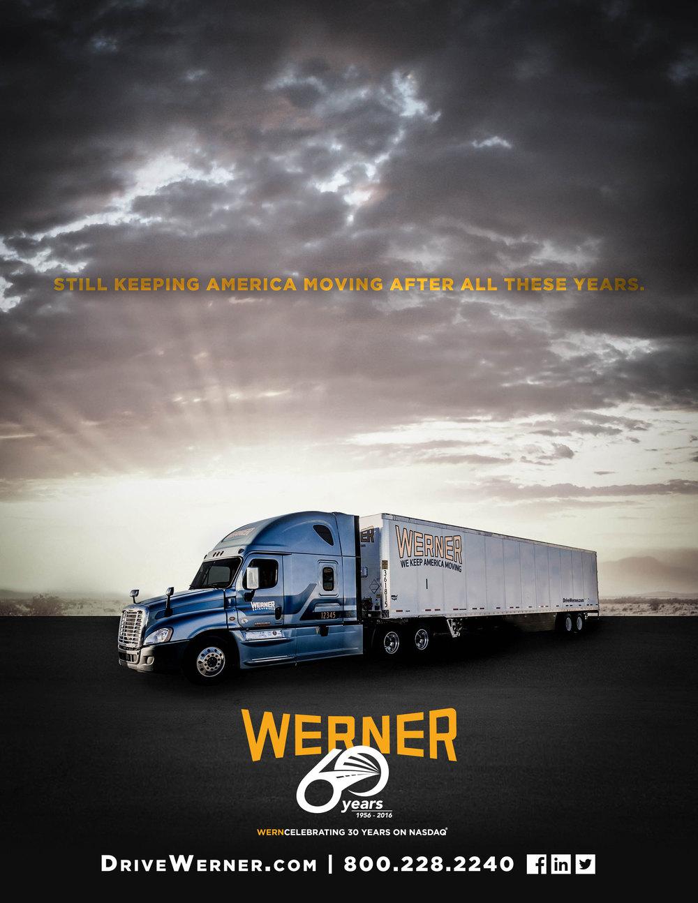 Werner 60th Anniversary Ad