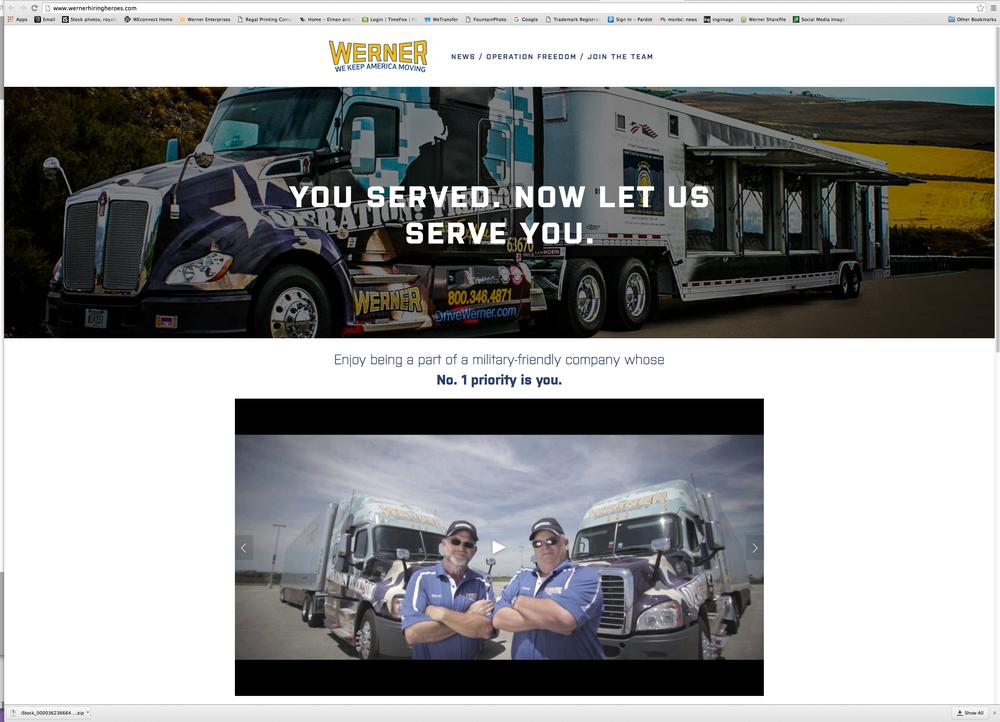 Werner Hiring Heroes