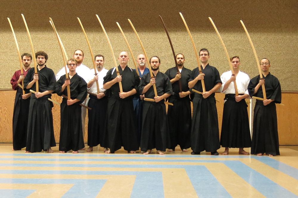 2014 kage ryu seminar with menkyo colin hyakutake-watkin