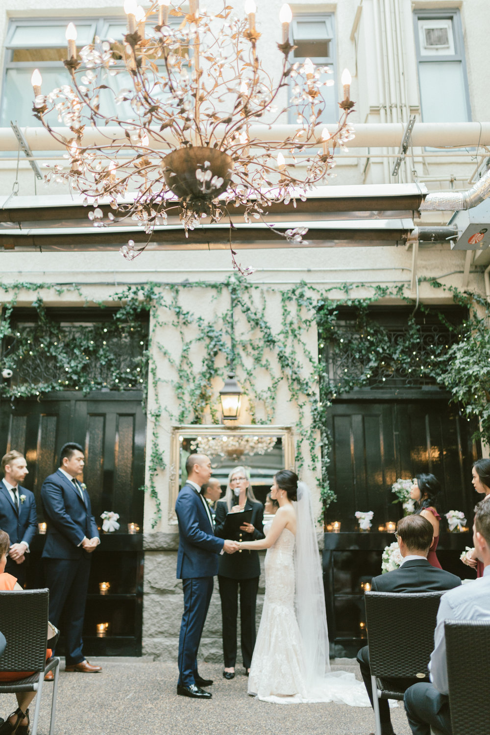 Brix and Mortar Vancouver Wedding Ceremony Photography