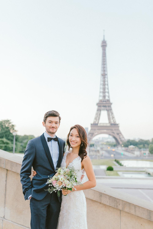 Hong Kong Vancouver based fine art wedding photographer Mattie C. | Paris Prewedding